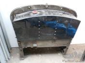 Amilcar G type original alu-firewall and petrol tank