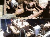 Hupmobile engine & gearbox for Hupmobile