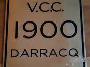 1900 DARRACQ dating plate