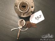 Old ignition switch with key