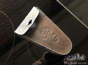 Small leather tool bag