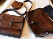 STALKING SADDLE CASE BY ROYAL SADLERS 19th CENTURY AND CARTRIDGE BAG & POUCH