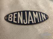 Grill badge Benjamin