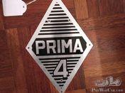 Badge Renault Prima 4