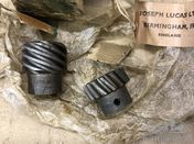 LUCAS DISTRIBUTOR GEAR SET FOR AUSTIN 7 1929-31 NEW OLD STOCK PART no ST585Z