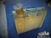 german petrol can 5 liter, new old stock