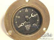 Smiths 0-40 vintage oil pressure gauge