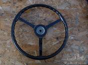 Large Flat Steering Wheel