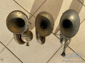 3 horns for veteran / brass cars