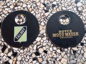 Talbot and Boyce moto meter plate 60mm