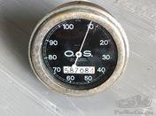 Compteur OS 100 km/h fond noir