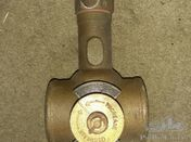 Rare Vintage brass thermostat housing. Bentley Rolls Royce Talbot