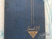 Alvis Speed 25 handbook