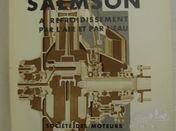 Livre Moteurs d'Aviation Salmson à refroidissement par l'air et par l'eau.