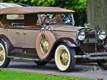 1930 Lincoln Model L Type 176b Dual Cowl Sports Phaeton