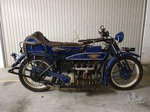 Henderson De Luxe 1922 mit Seitenwagen