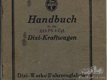Dixi 3/15 ps Handbuch