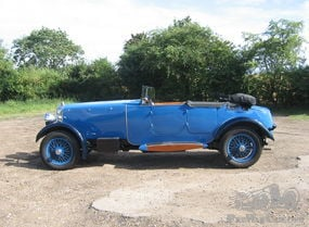 Lanchester 30 Hp Straight Eight Sporting Tourer