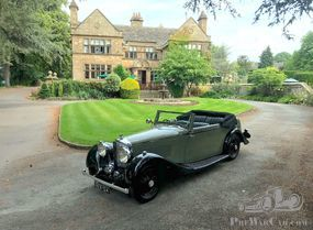 1934 Derby Bentley 3 ? Litre Hooper Bodied Drophead Coupe