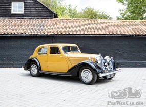 1936 Talbot 3? Litre Speed Saloon Coachwork by Darracq
