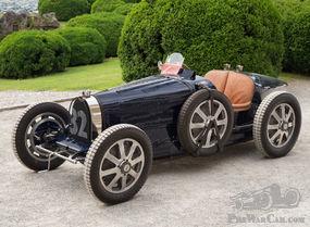 The Ex - Count Czaykowski, René Dreyfus, Aubrey Esson-Scott 1931 Bugatti Type 51