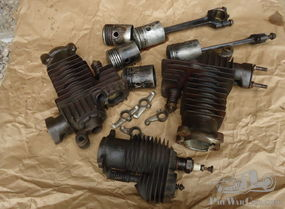FN M50 four cylinders engine parts