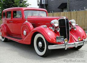 1934 Nash 1290 Ambassador Sedan