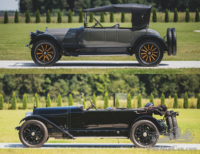 Back to back: 1920 Locomobile or 1919 Pierce-Arrow?
