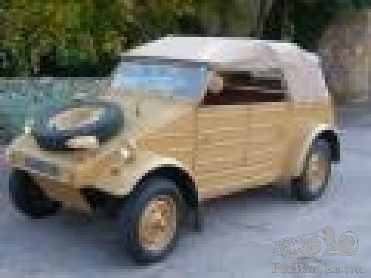 Car Volkswagen Kubelwagen Type 82 1945 for sale - PreWarCar