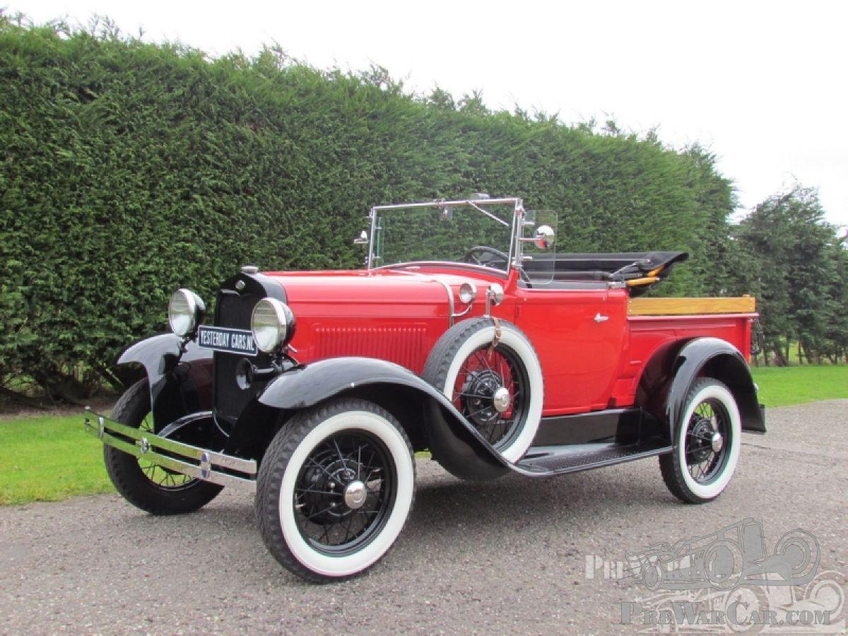 Car Ford Model A Roadster Pick Up 1931 For Sale Prewarcar