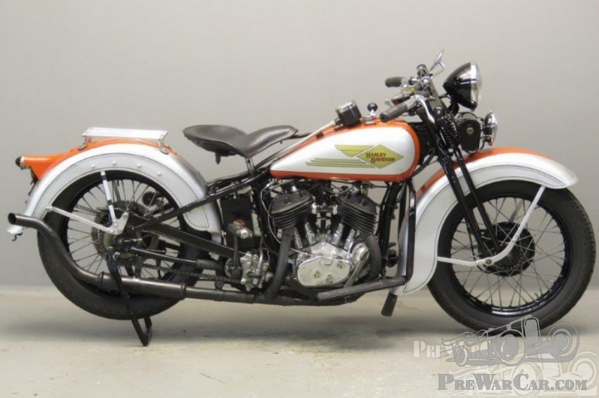 Harley-Davidson mc Model RL 750cc 2 cyl sv 2710 1934 for sale