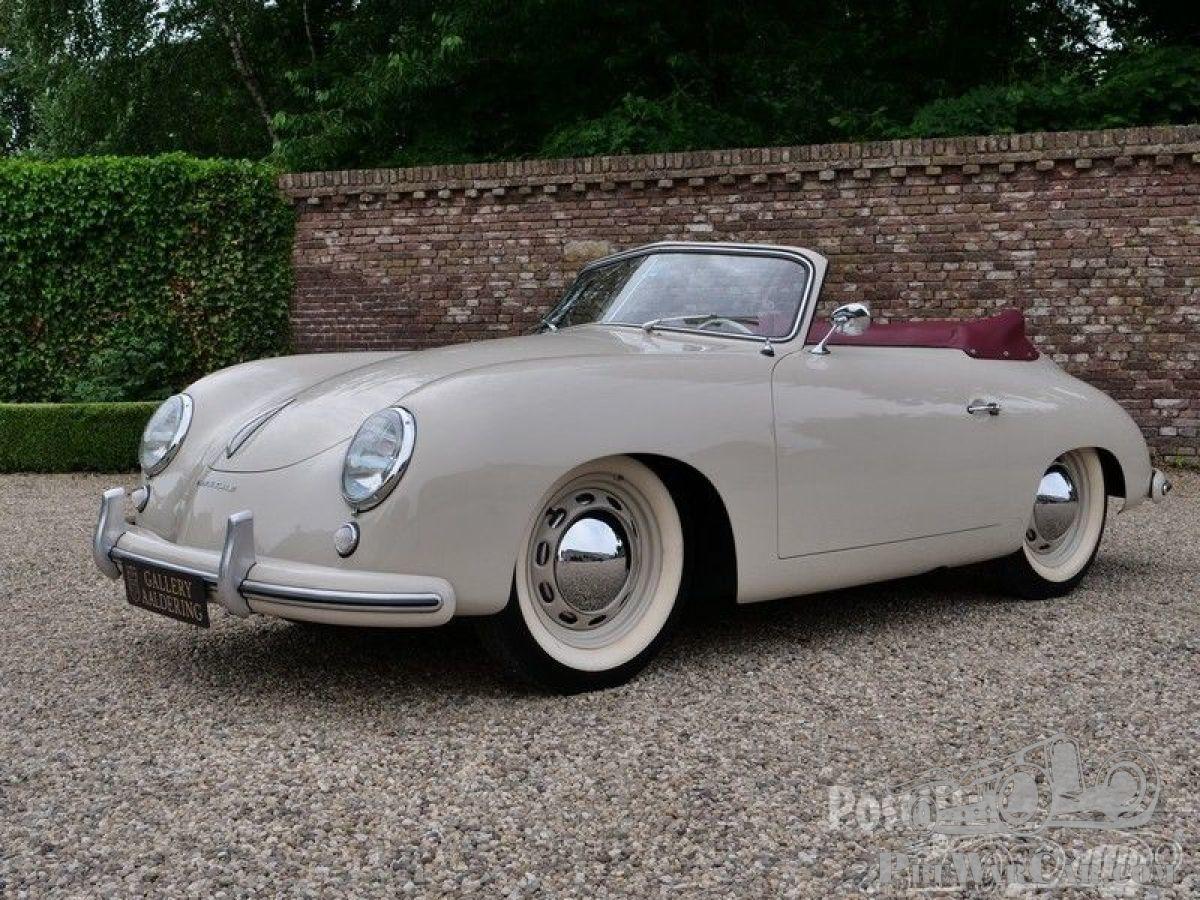 Porsche 356 For Sale >> Porsche 356 Pre A Knickscheibe Convertible 1954 For Sale