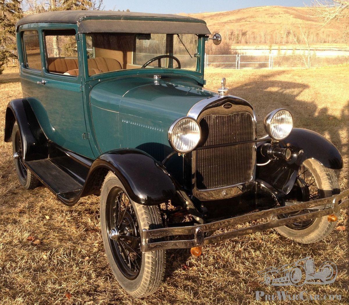 Car Ford Ford Model A Tudor 2 Dr Sedan 1928 For Sale Prewarcar
