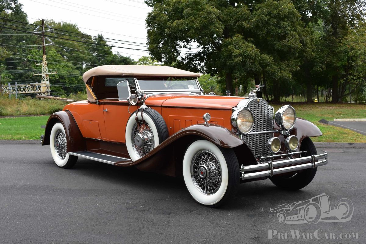 Car Packard 740 Roadster 1930 for sale - PreWarCar