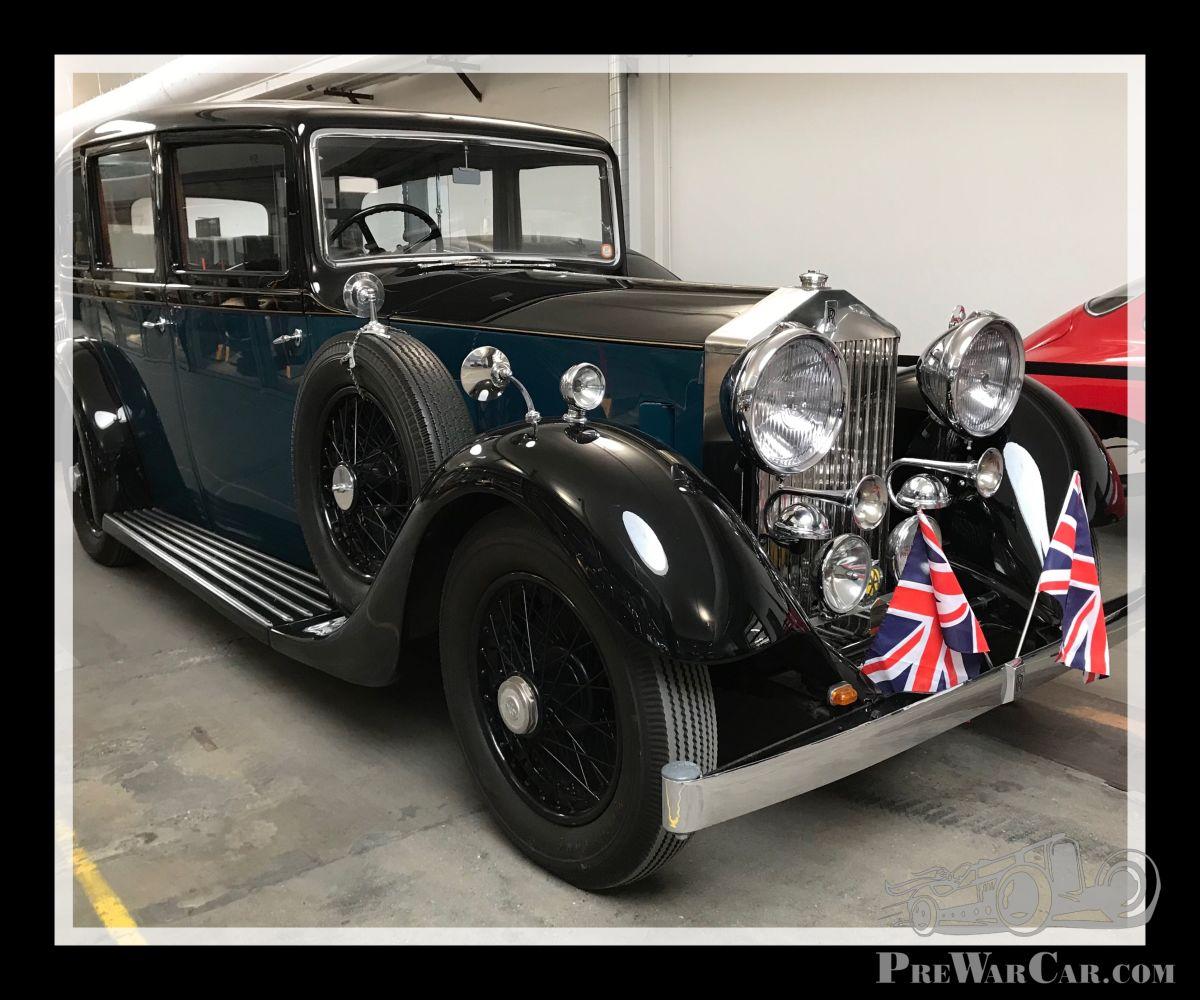 Car Rolls-Royce 20/25 GWE 1934 For Sale