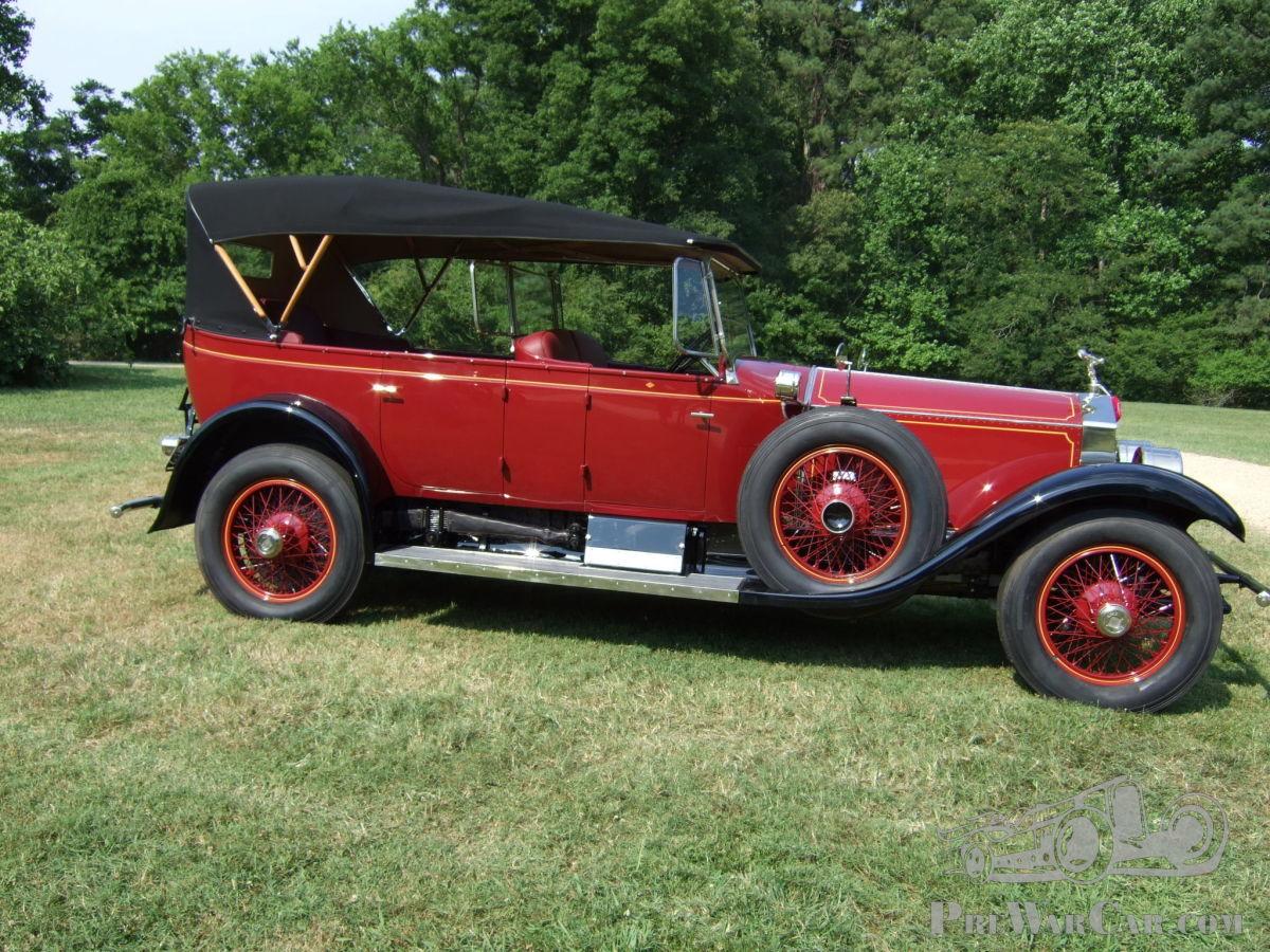 car rolls royce springfield silver ghost 1925 for sale prewarcar 1925 rolls royce springfield silver ghost