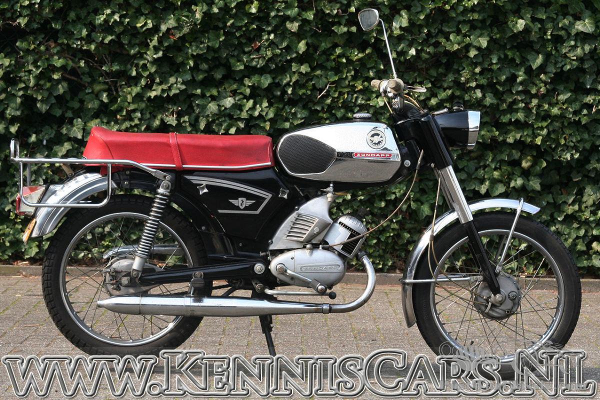 Wonderbaarlijk Motorbike Zündapp KS 50 1977 for sale - PostWarClassic IC-35