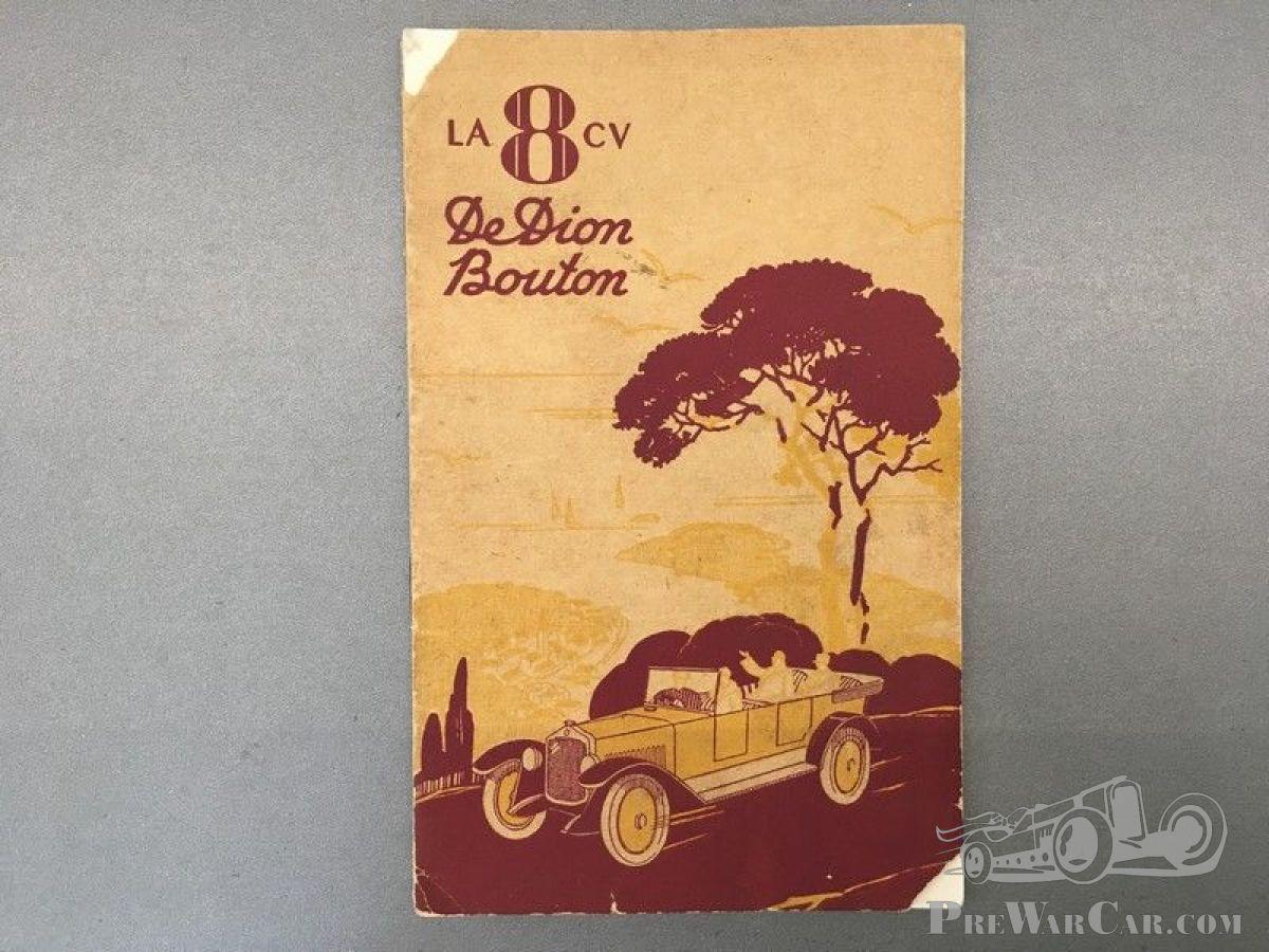 Part De Dion Bouton Documentation (manuals) De Dion-Bouton