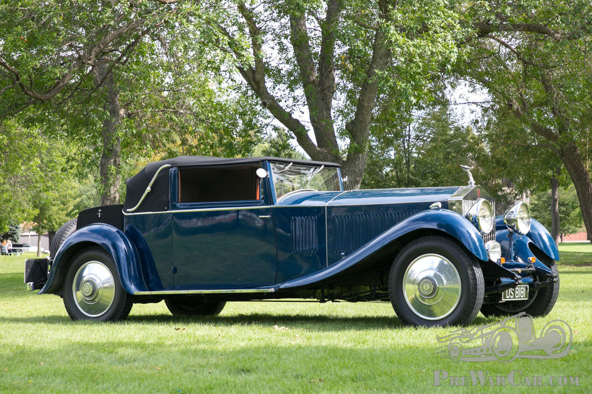 Car Rolls-Royce Phantom 2 1930 for sale - PreWarCar