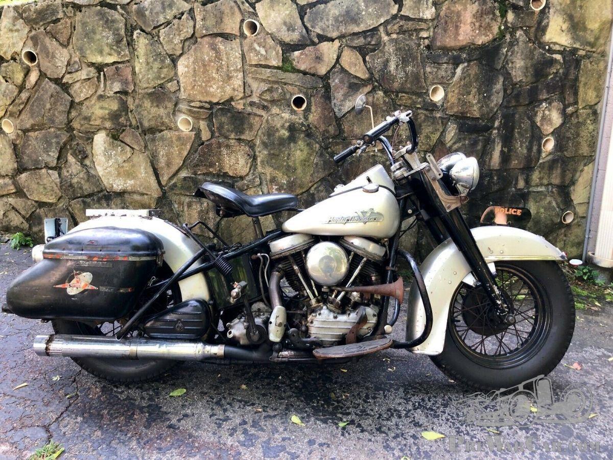 1955 Harley Davidson Fle Panhead