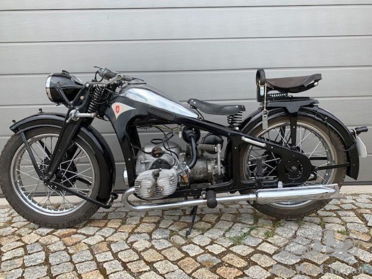 Ongebruikt Motorfiets Zündapp KS 500 1938 te koop - PreWarCar TY-97