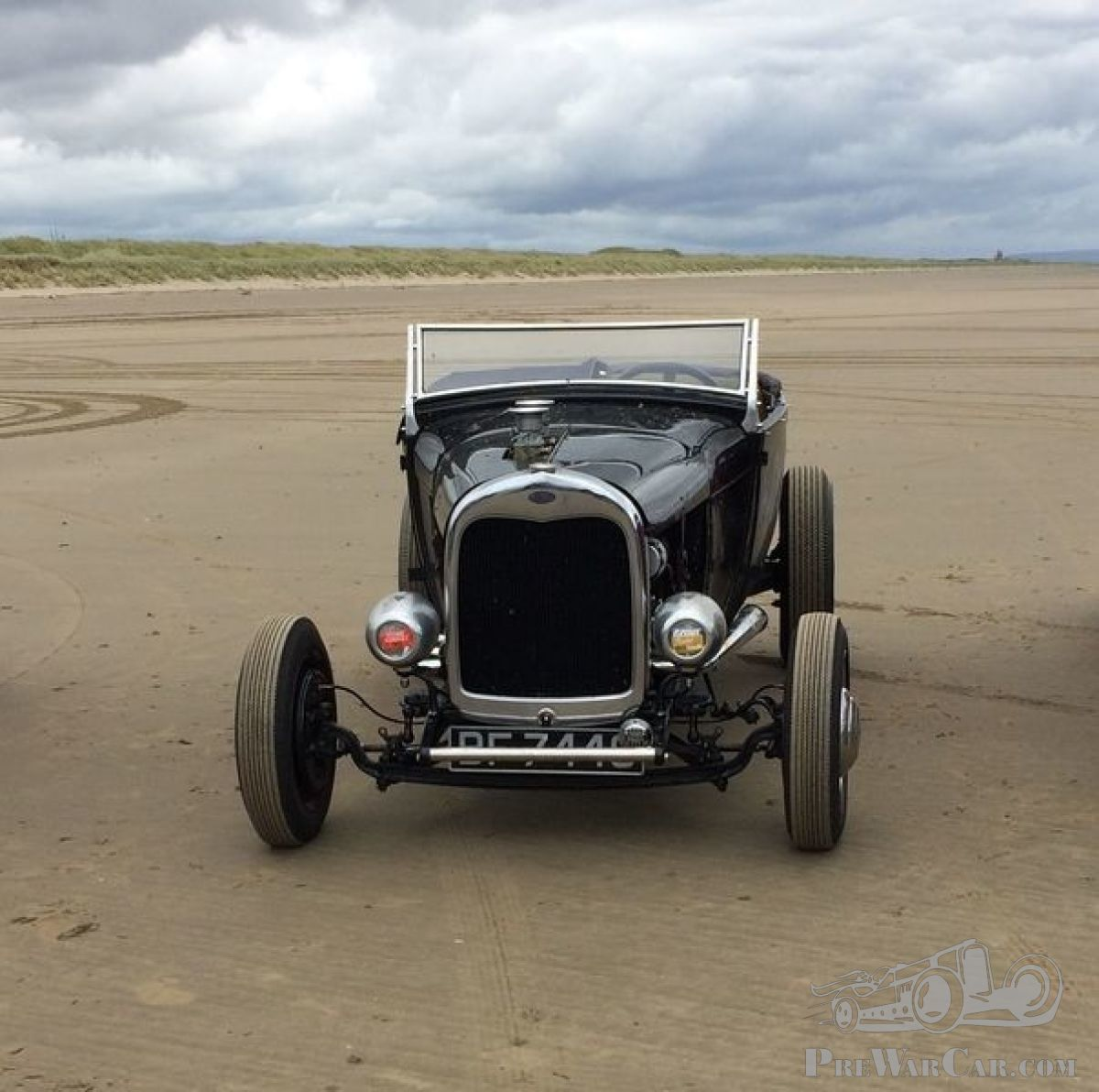 Car Ford Supercharged Ford Model A/V8 'Highboy' Hot Rod