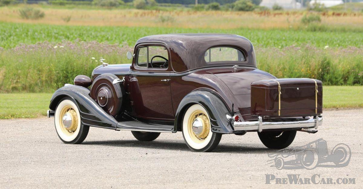 Car Pontiac 8 Sport Coupe 1934 for sale - PreWarCar