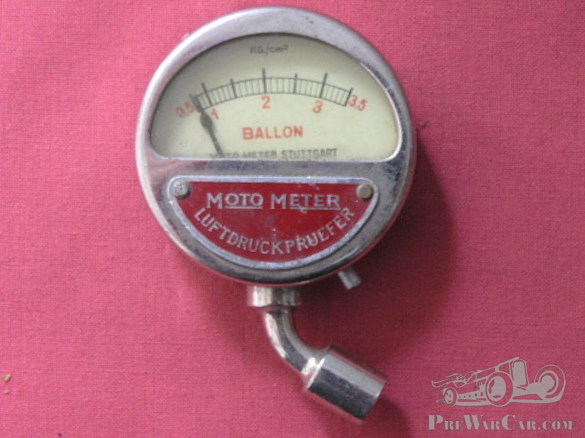 Moto Meter Tyre Pressure Gauge