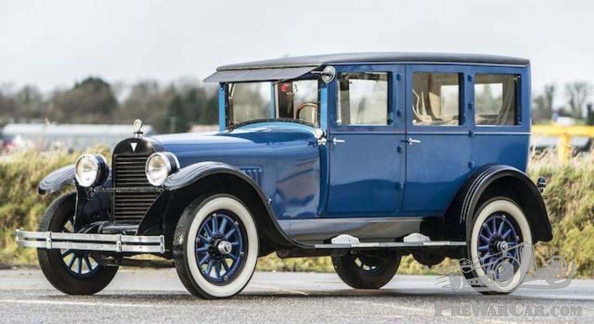 Car Hudson Super Six Saloon 1922 for sale - PreWarCar