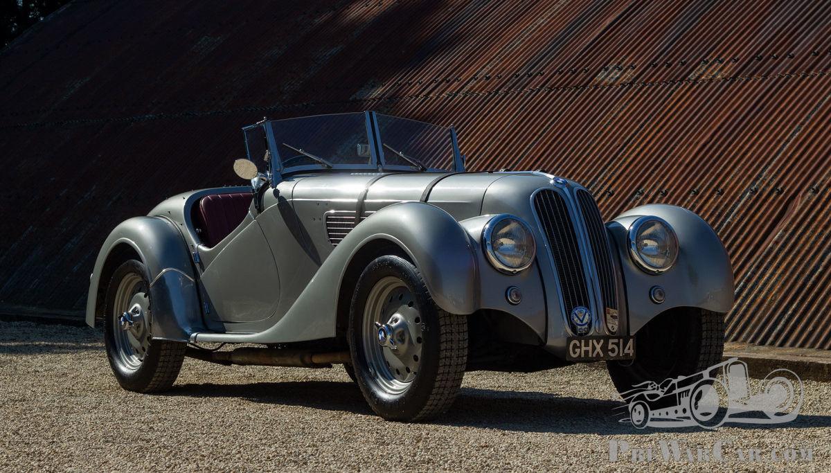 Car BMW 328 1938 for sale - PreWarCar