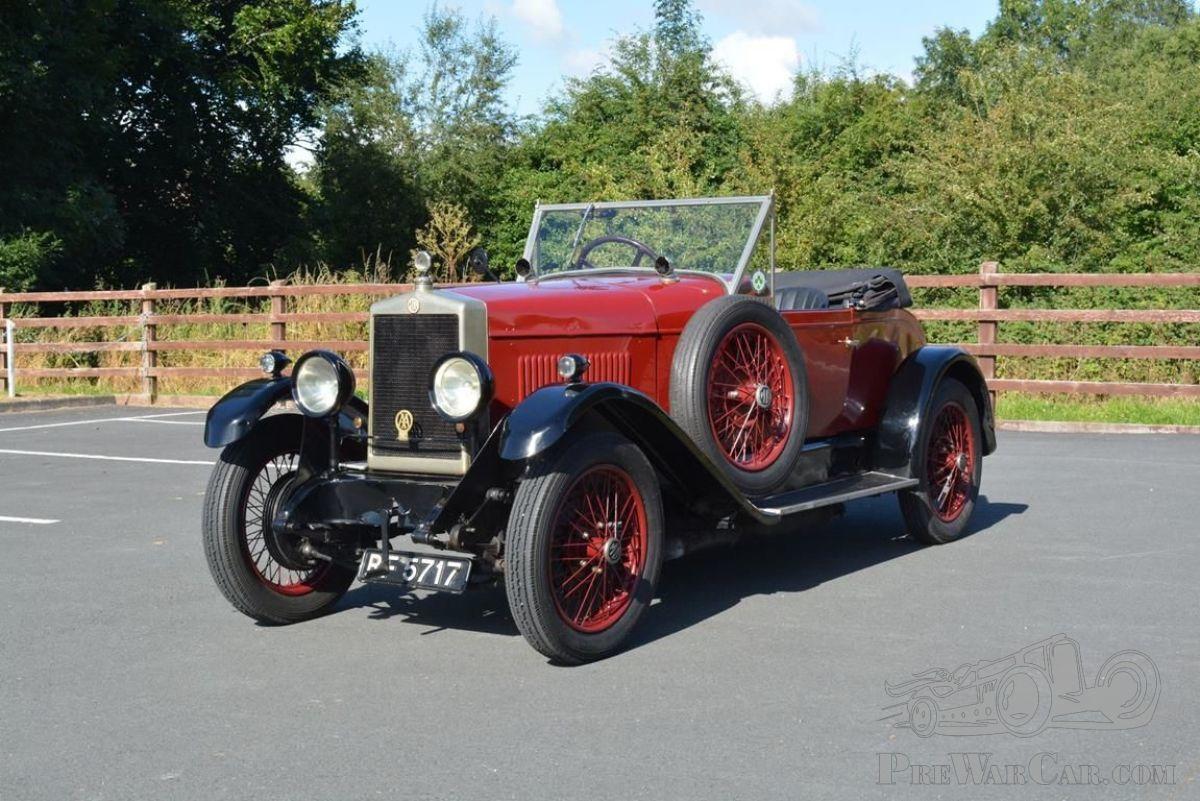 Car MG 14/40 Sports 1929 for sale - PreWarCar