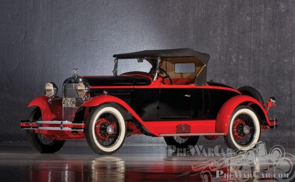 Car Essex Speedabout Boattail Roadster 1929 for sale - PreWarCar