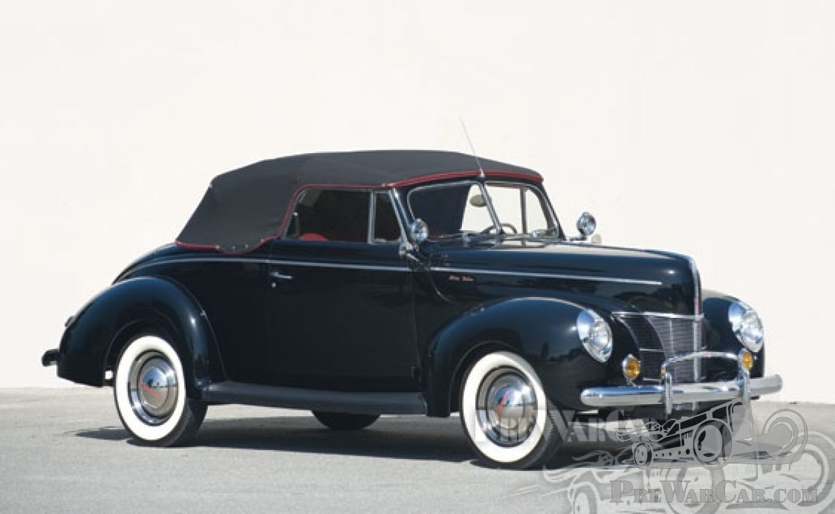 Car Ford Deluxe Convertible Coupe 1940 For Sale Prewarcar
