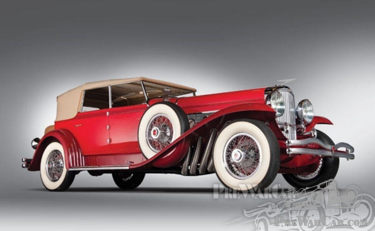 Duesenberg For Sale >> Car Duesenberg Model J Convertible Sedan 1930 For Sale